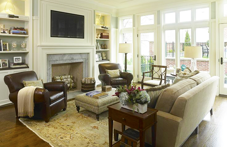 living-room-furniture-arrangement-for-small-living-room-interior-design-with-home-living-room-furniture-with-grey-sofa-and-wood-fabric-coffee-tables-also-rug-on-the-hardwood-flooring-decorations