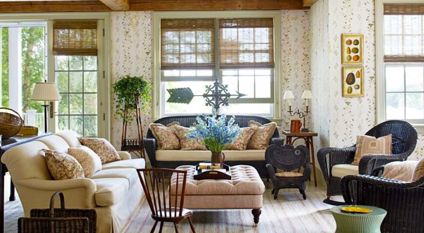 living-room-furniture-arrangement-with-rustic-home-furniture-decorating-ideas-with-tufted-square-coffee-table-and-brown-and-blue-sofa-as-furniture-interior-and-hardwood-flooring