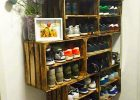 pallet storage furniture for pallet shoe racks ideas as a storage solutions for home rustic furniture with easy and cheap storage cabinet for shoes