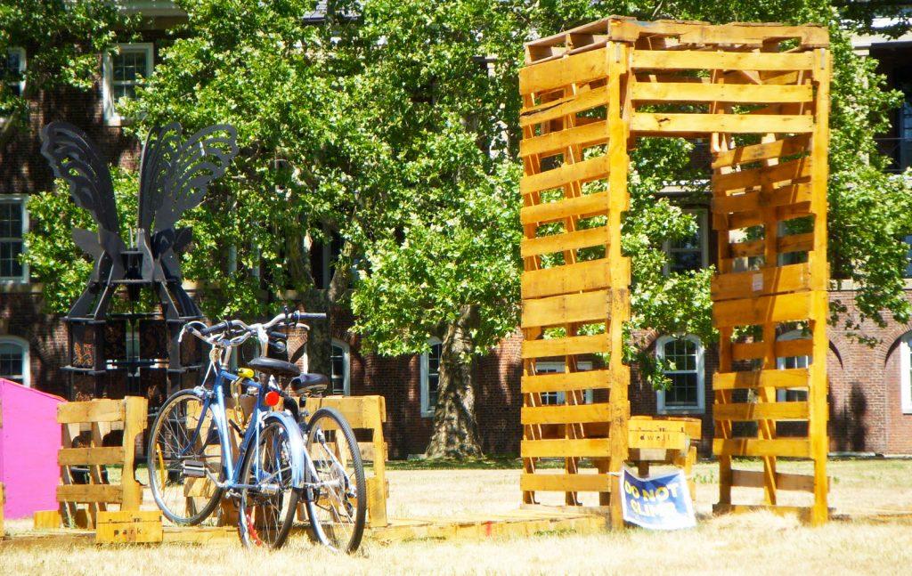 Pallet Storage Furniture For Storage Solution For Wood Pallet Bike
