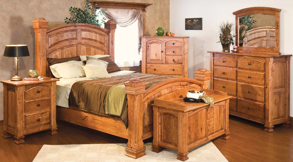the-best-wooden-furniture-material-for-rustic-bedroom-furniture-sets-with-solid-oak-wood-and-hardwood-flooring-ideas