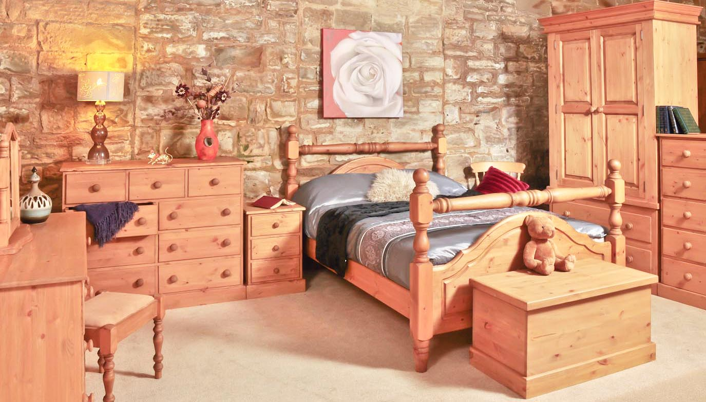 The Best Wooden Furniture Material Pine Wood Bedroom