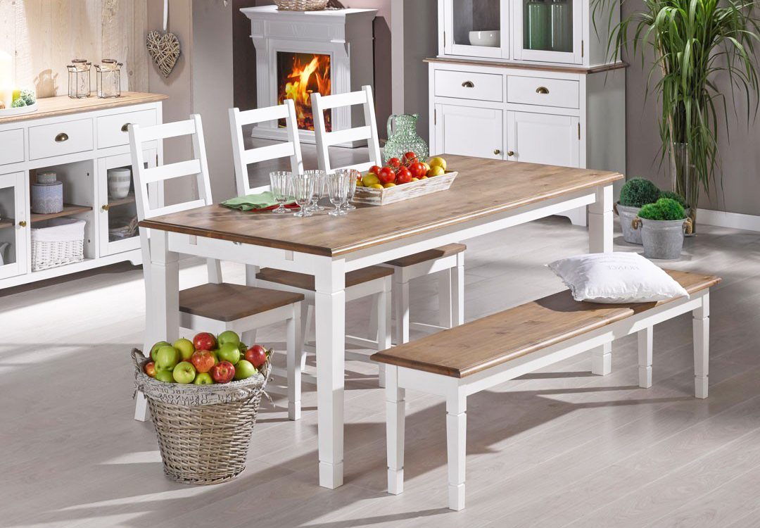 the-best-wooden-furniture-material-with-white-maple-wood-dining-room-furniture-sets-ideas-with-three-chairs-and-bench-seats-dining-table-decoration
