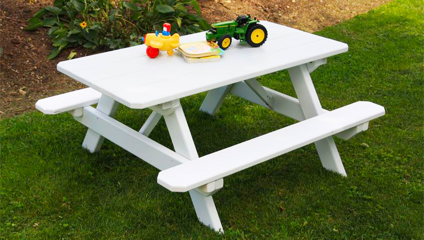 Wooden Pallet Furniture How To Make Kids Picnic