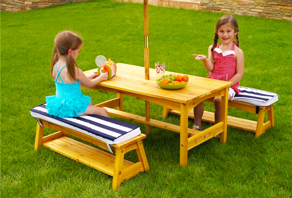 Wooden Pallet Plans With Awesome Picnic Table Kids