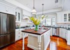 custom kitchen cabinets doors refacing with white custom kitchen cabinets and pendant light kitchen decor also white oak kitchen island