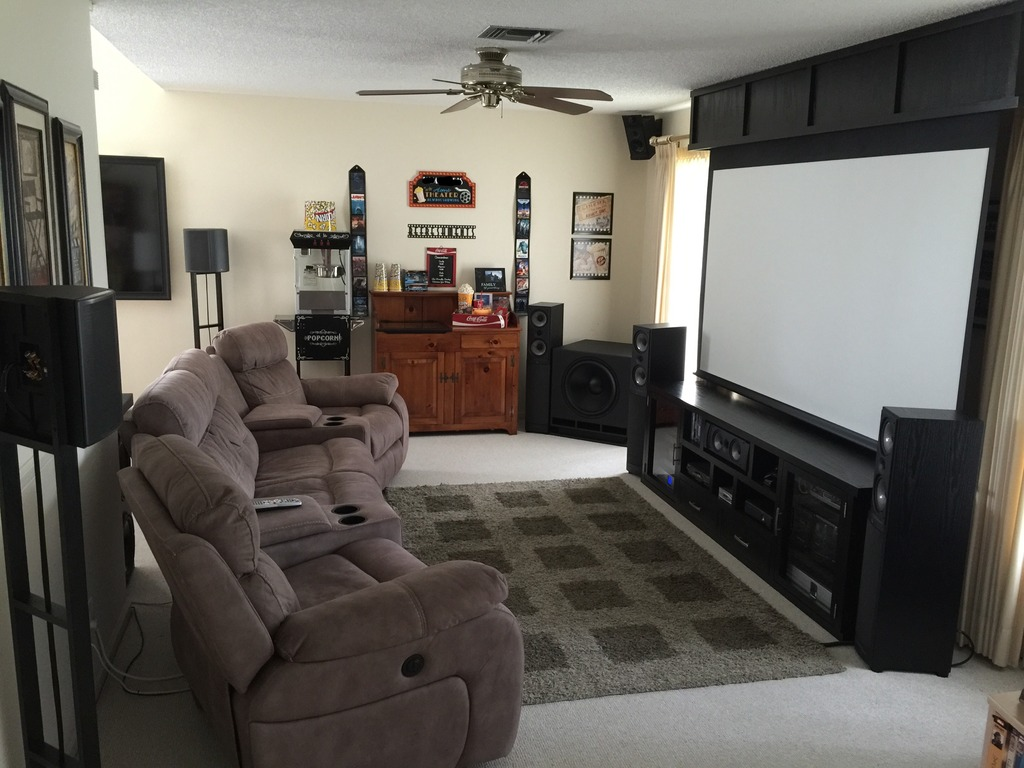 awesome ideas to decorate a living room theaters