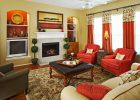 awesome red contemporary living room pictures ideas decorating