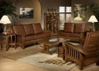 awesome wooden living room furniture sets with white table lamps ideas