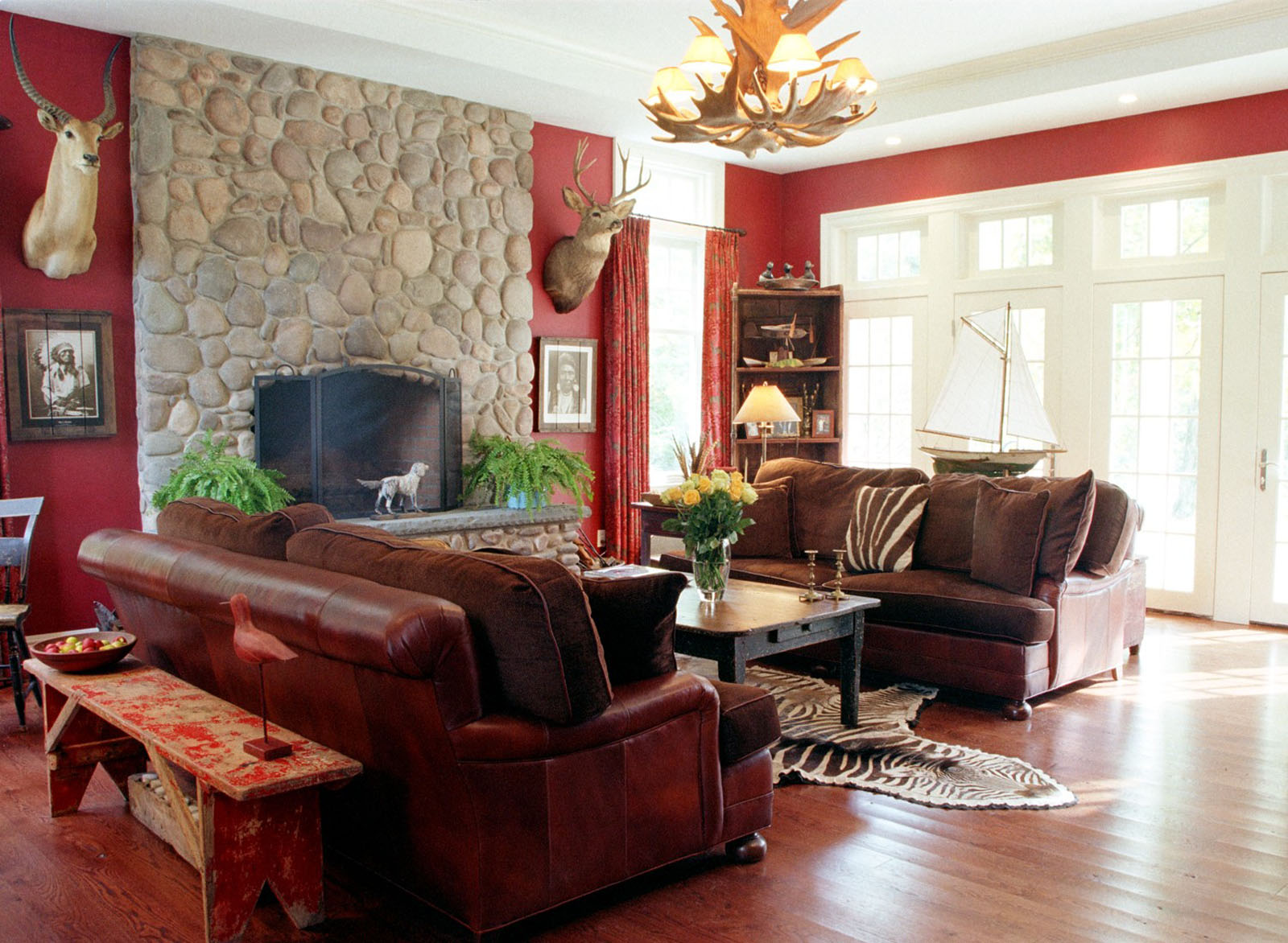 best red wall paint living room pictures decorating ideas