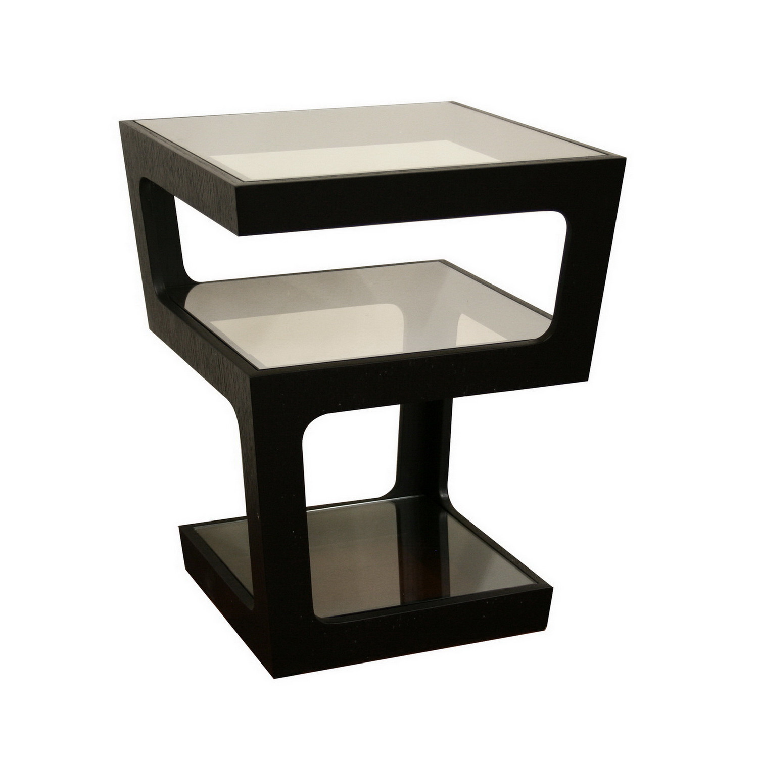black wooden end tables with glass on top for small accent tables living room