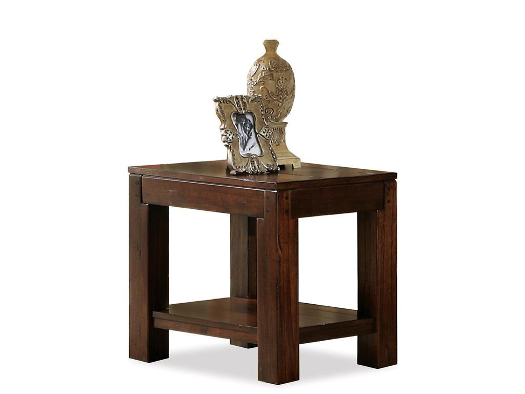 Small side tables for living room home design for Small wood end table