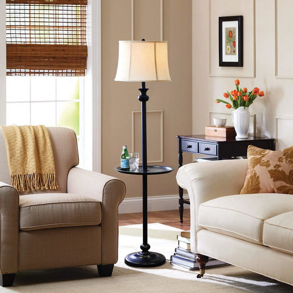 living room table lamps decor ideas for small living room roy home design. Black Bedroom Furniture Sets. Home Design Ideas