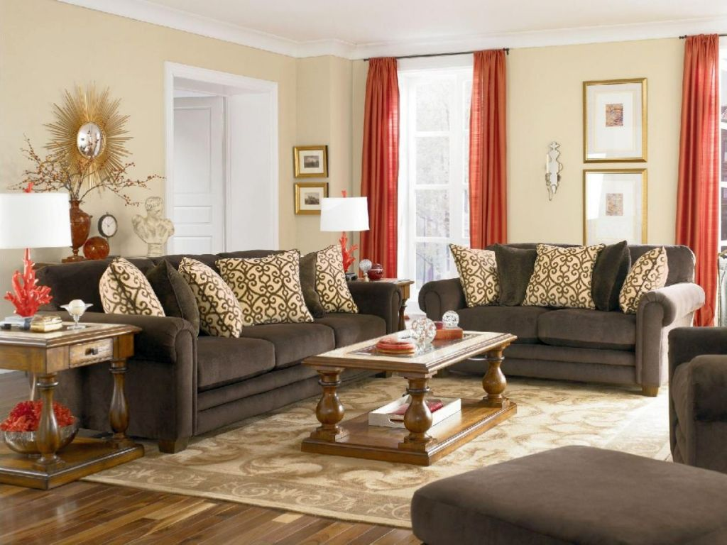 Red Living Room: Red Living Room Ideas To Decorate Modern Living Room Sets