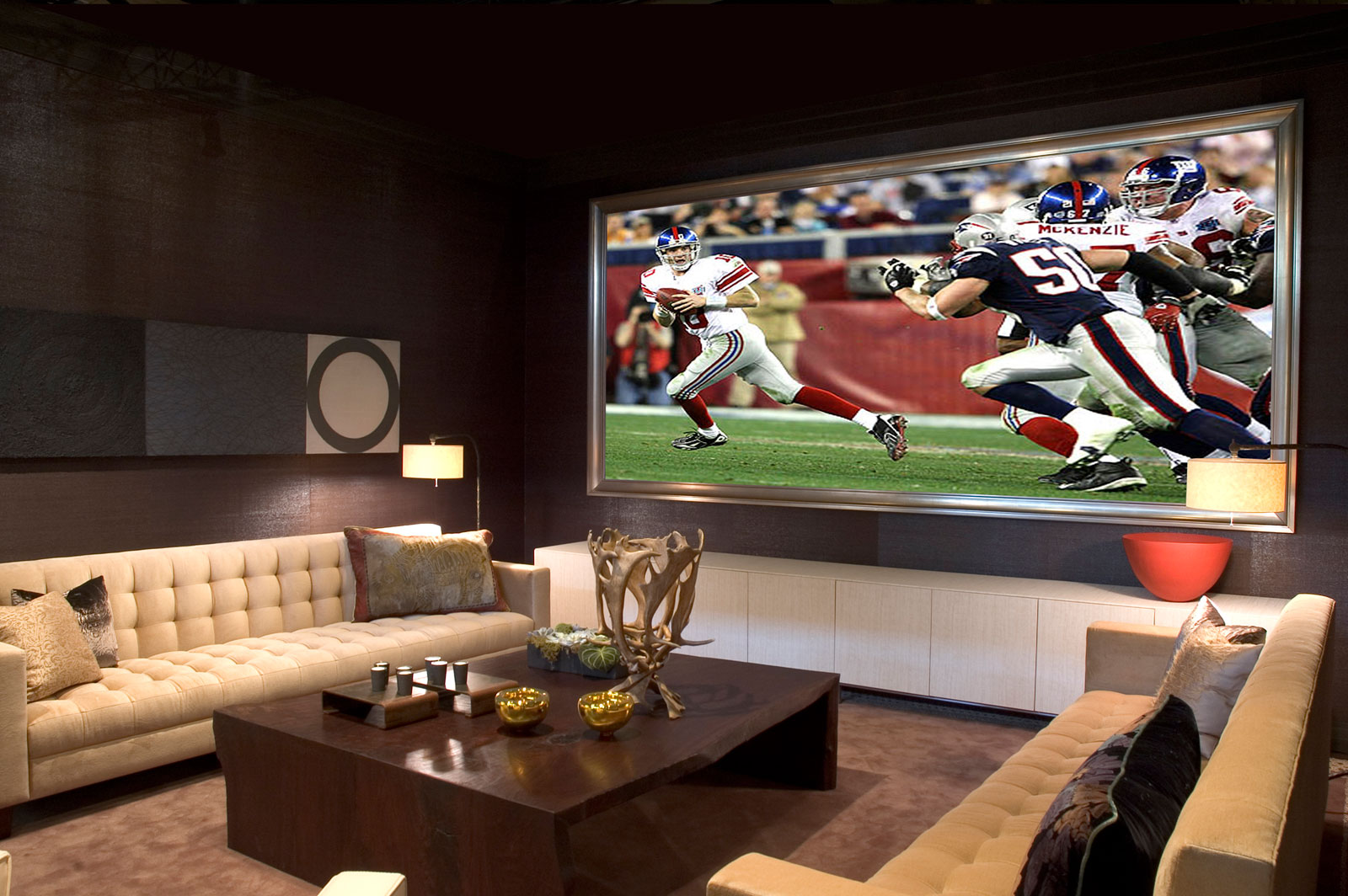 Family Room Design Ideas To Decorate A Living Theater On Budget