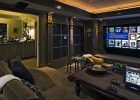 family room design ideas to decorate a living room theater with large screen view