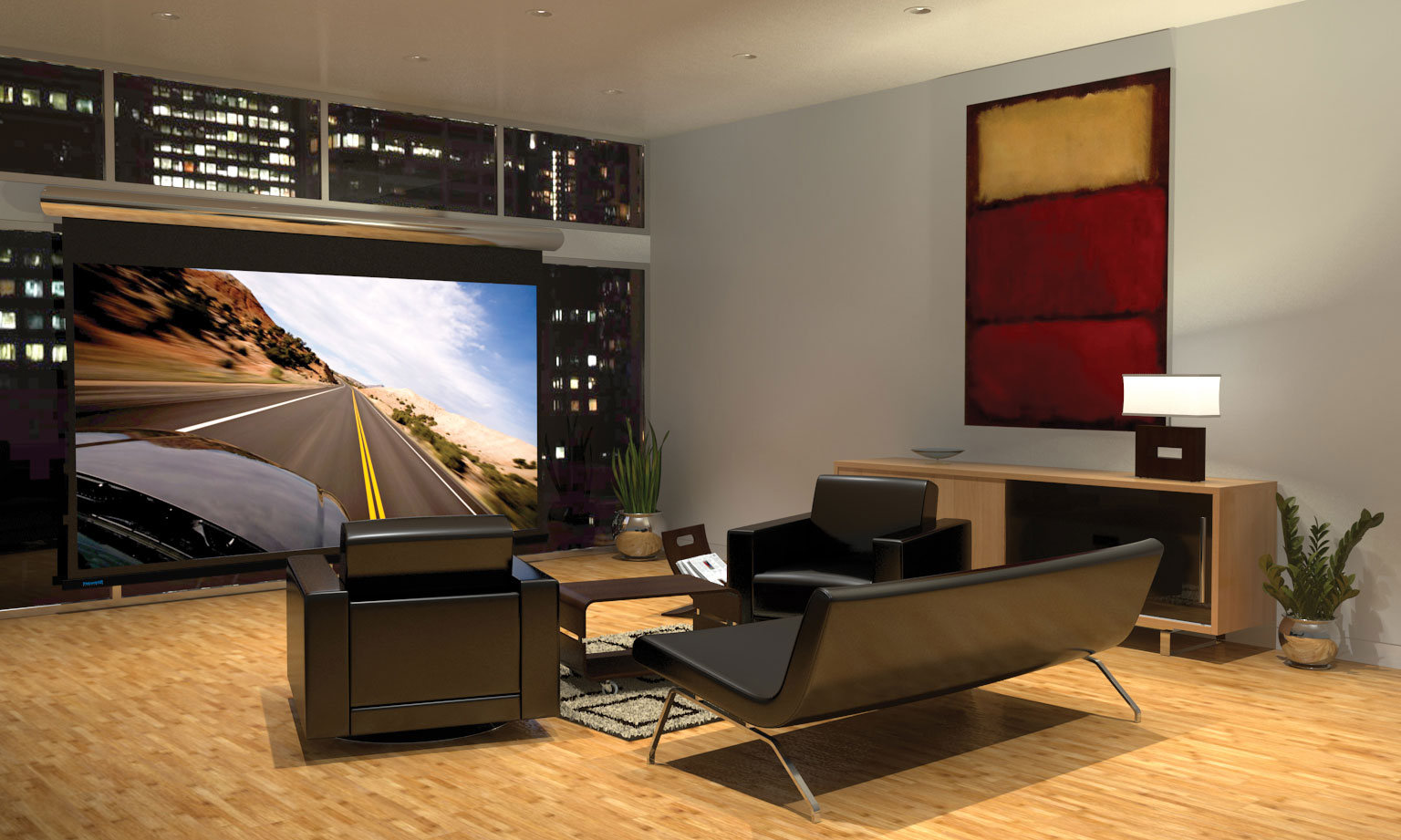 ideas to decorate a living room theaters with black leather loveseat sets