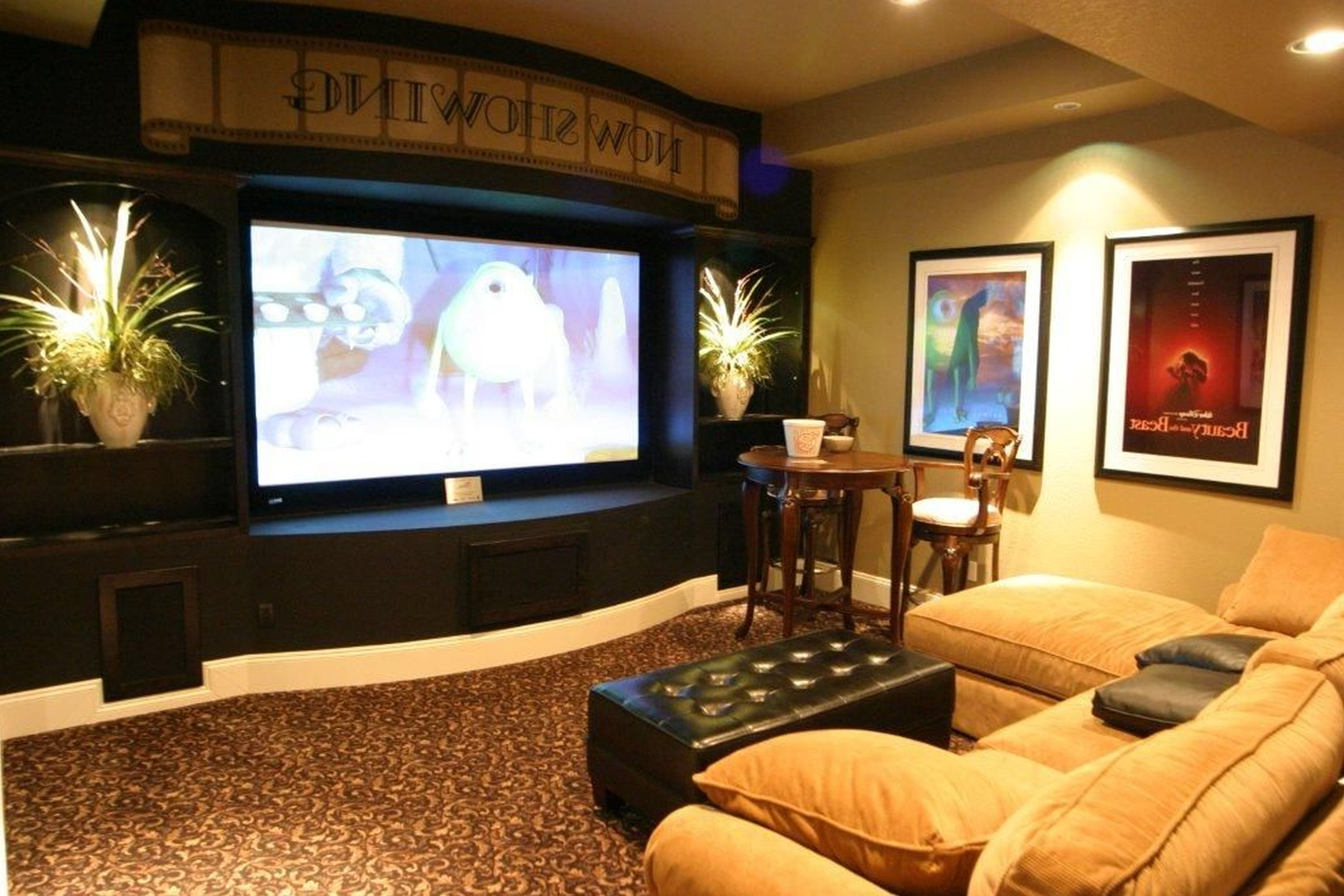 ideas to decorate a living room theaters with black leather tufted coffee tables