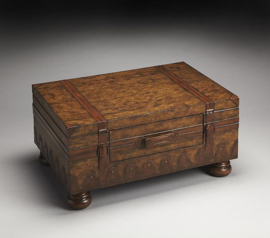 living room wooden rustic furniture chest coffee table ideas