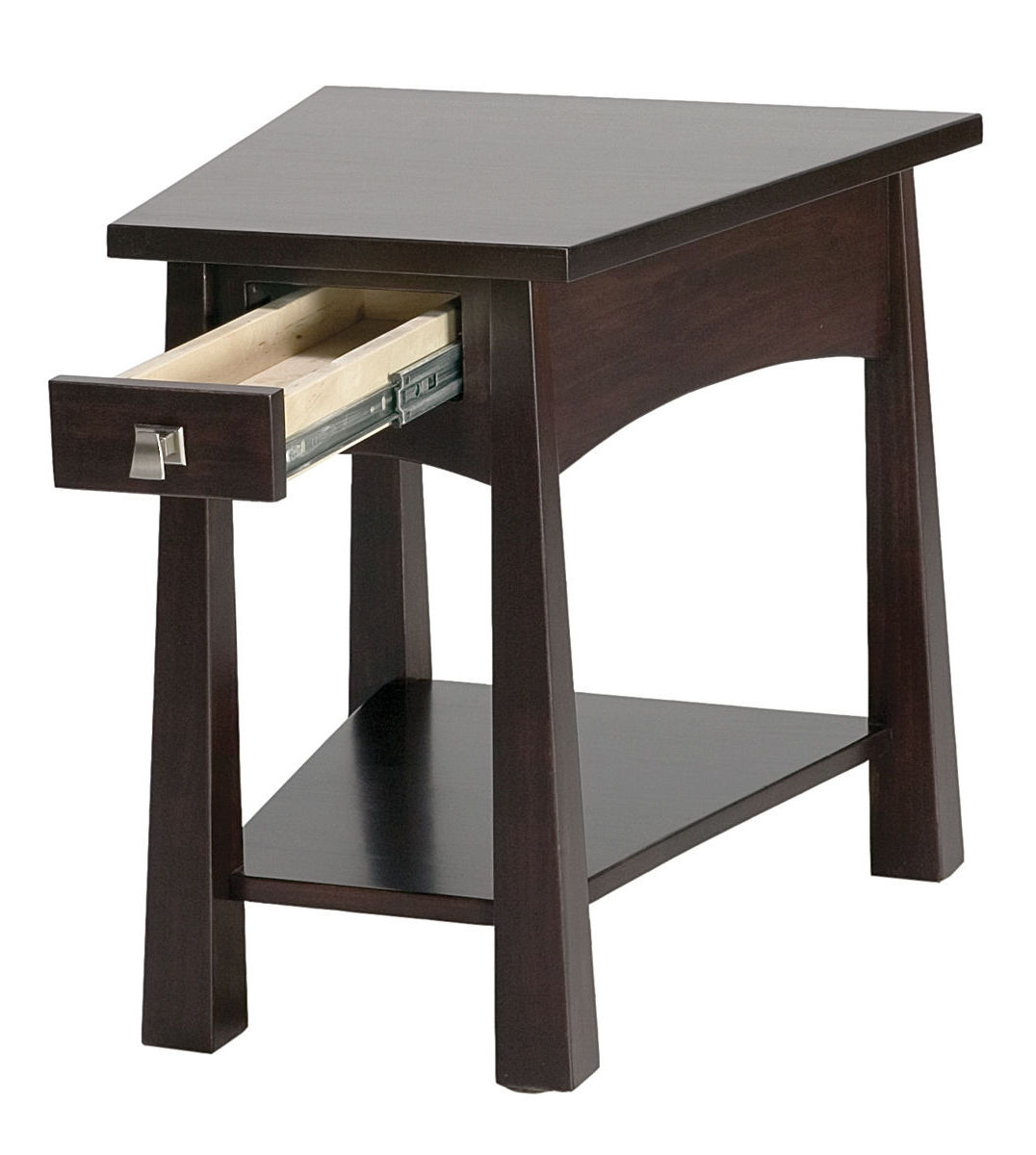 Living room end tables furniture for small living room for Small wood end table