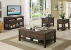 modern black wood living room side tables furniture sets