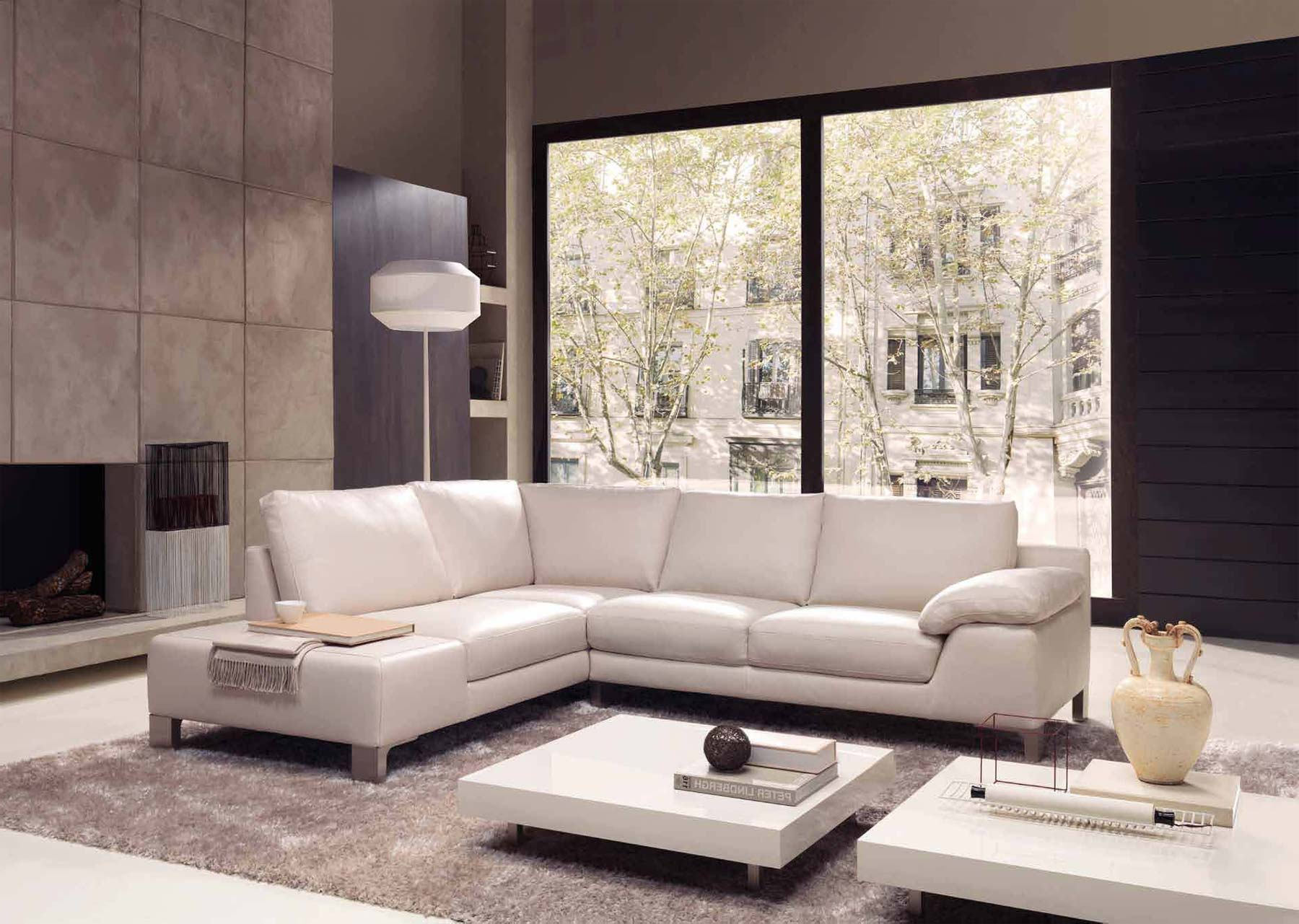 modern glass white floor lamps for living room