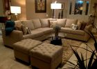 modern living room ideas decorating with white sectionals sofa and tufted loveseats