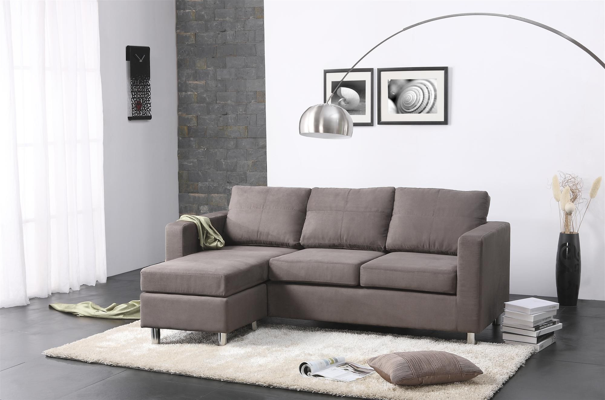 modern living rooms small grey with sectionals couch furniture and loveseat