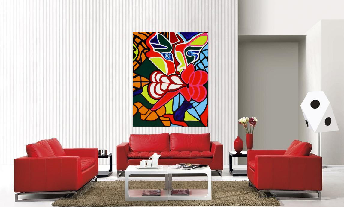 modern white red decorating living room pictures ideas