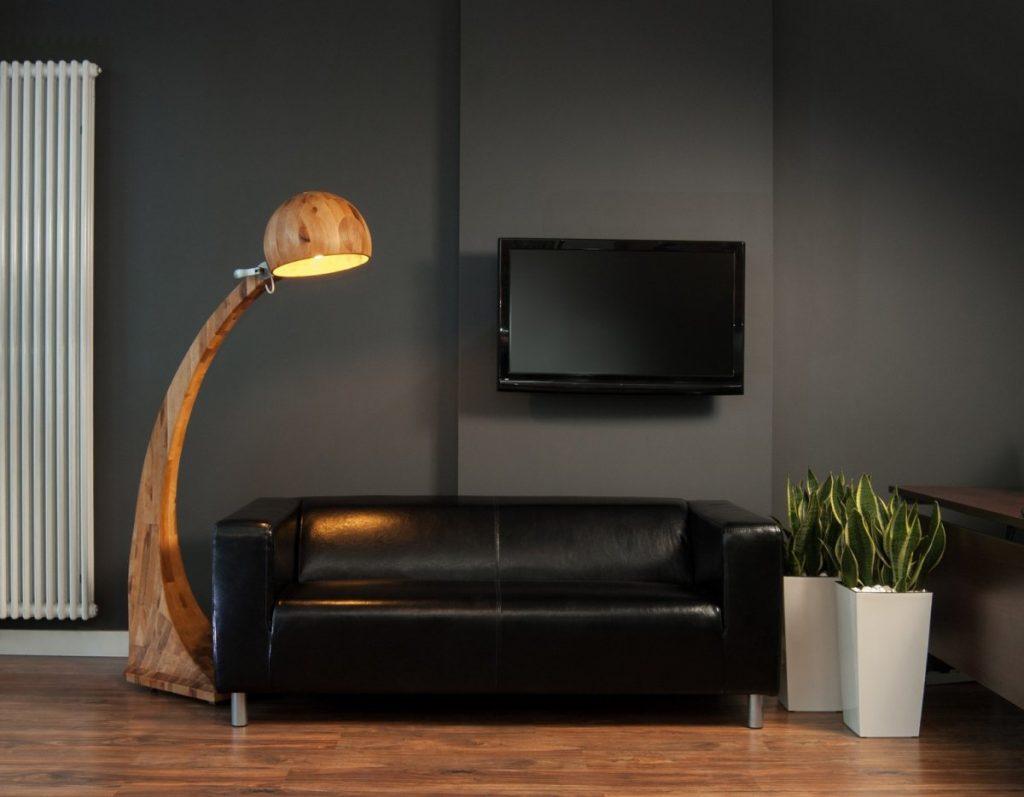 Modern Wooden Floor Lamps For Living Room Indoor Light