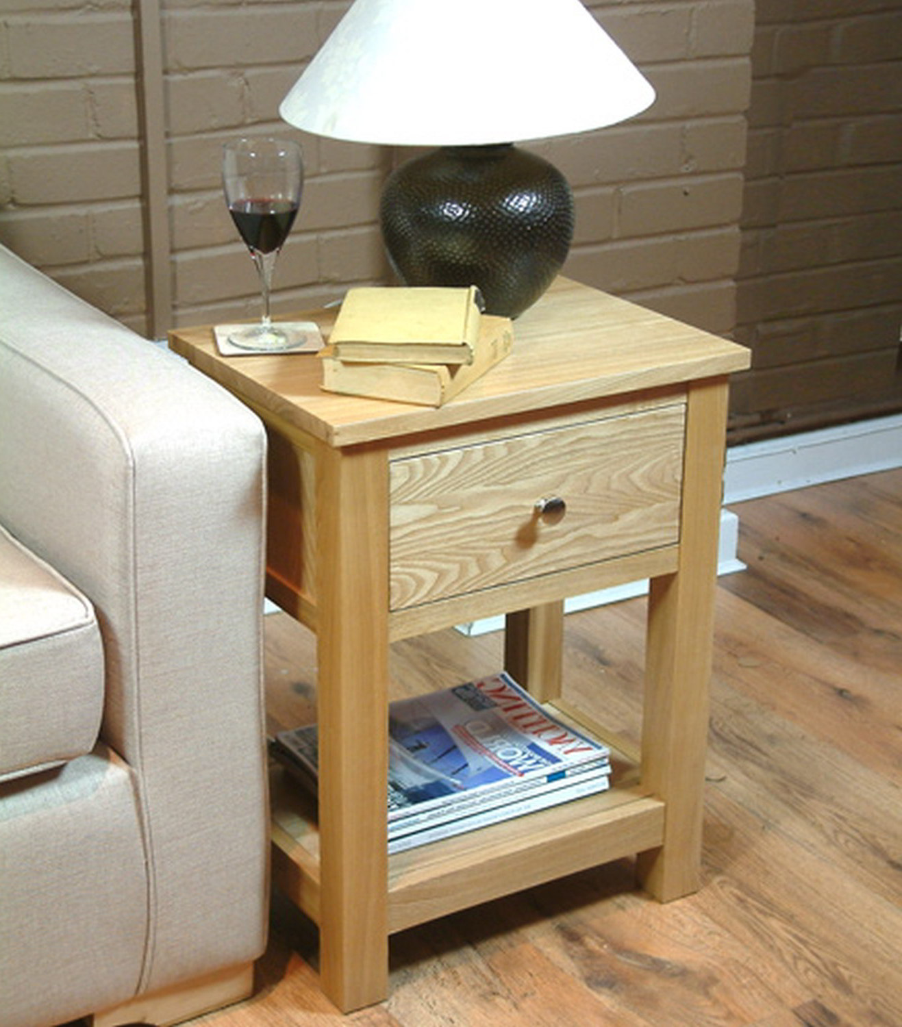 modern wooden white living room table lamps with storage ideas