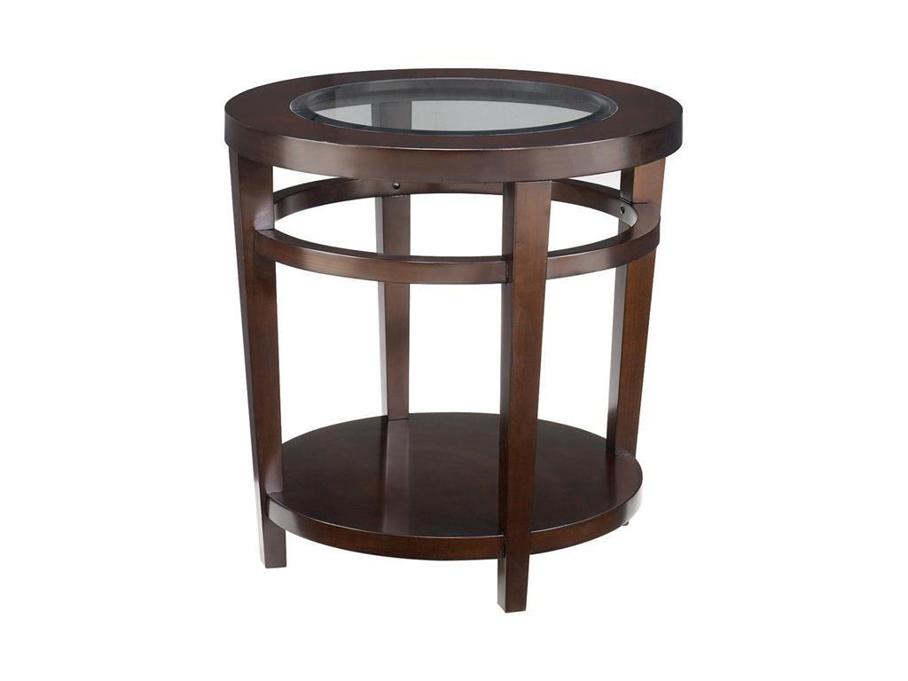 round wooden end tables with glass on top for small accent tables living room