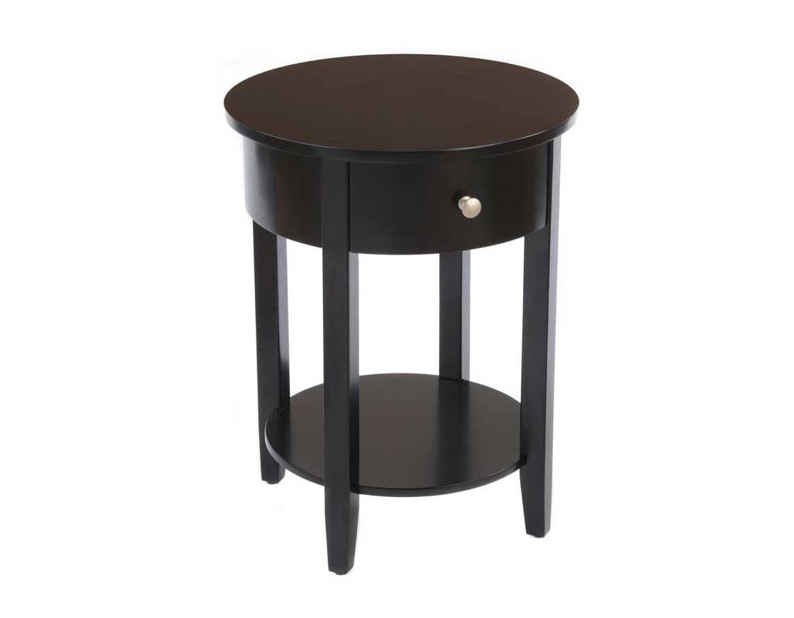 small blackliving room round end tables with storage design