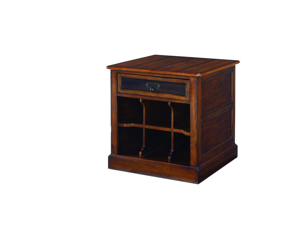 small wooden living room end tables with storage design