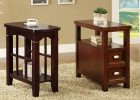 small wooden living room side tables furniture sets with storage design