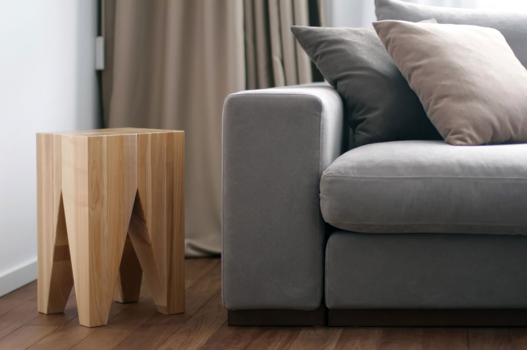 small wooden oak end tables for accent tables living room