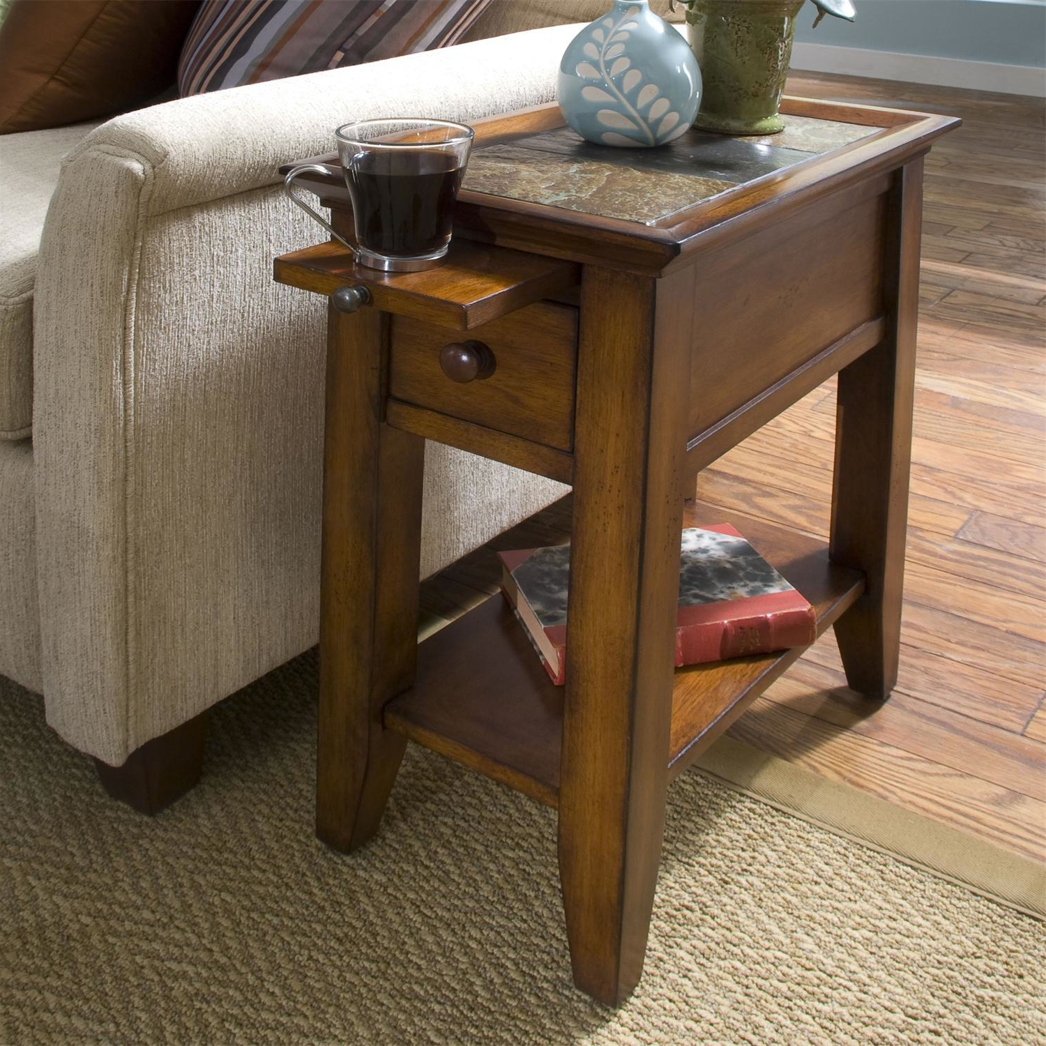 small wooden side tables with storage for living room end tables
