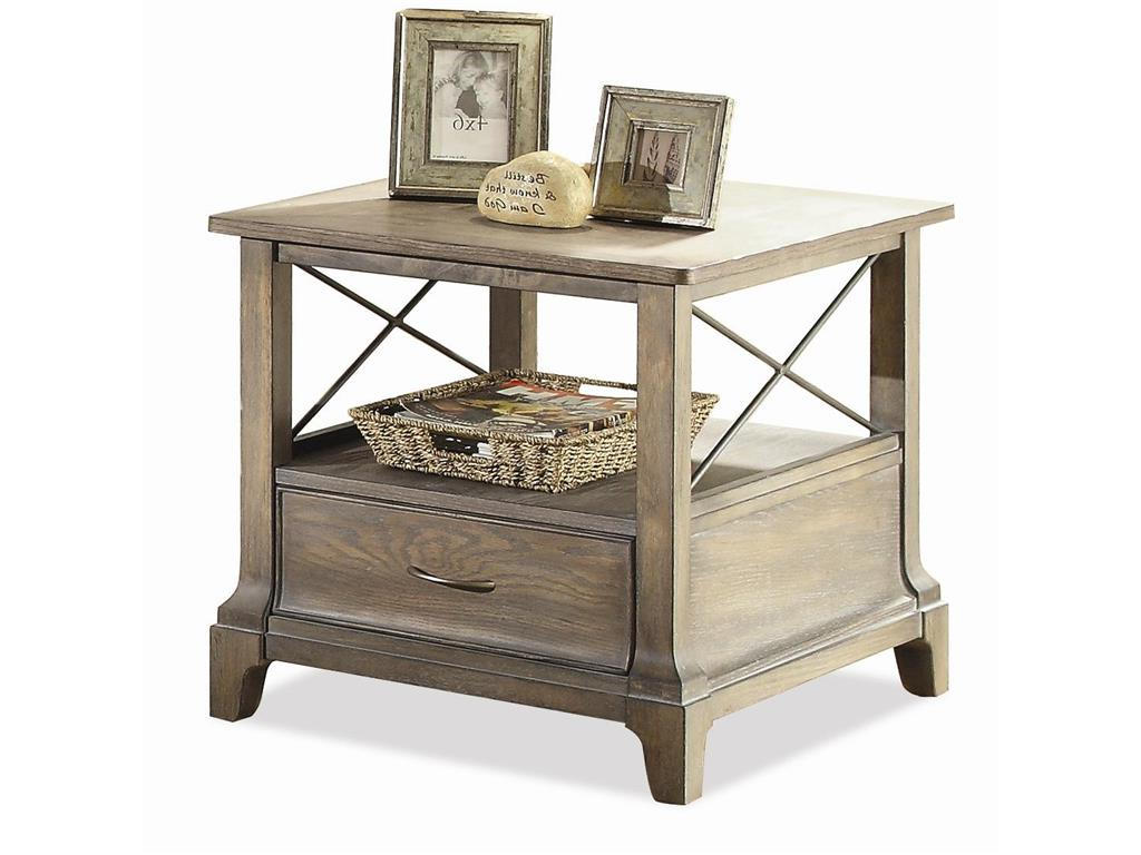 small wooden side tables with storage for small spaces living room