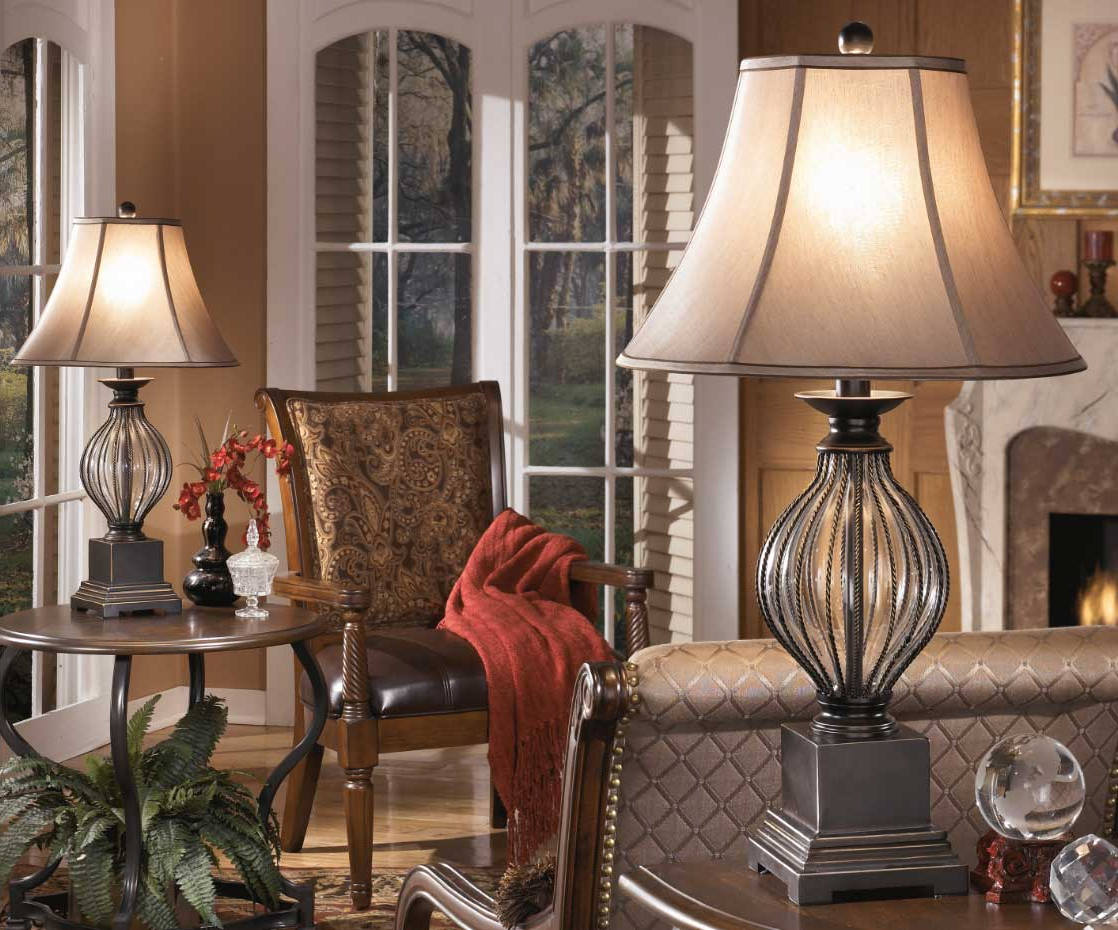 vintage living room table lamps decor with luxury white desk lights
