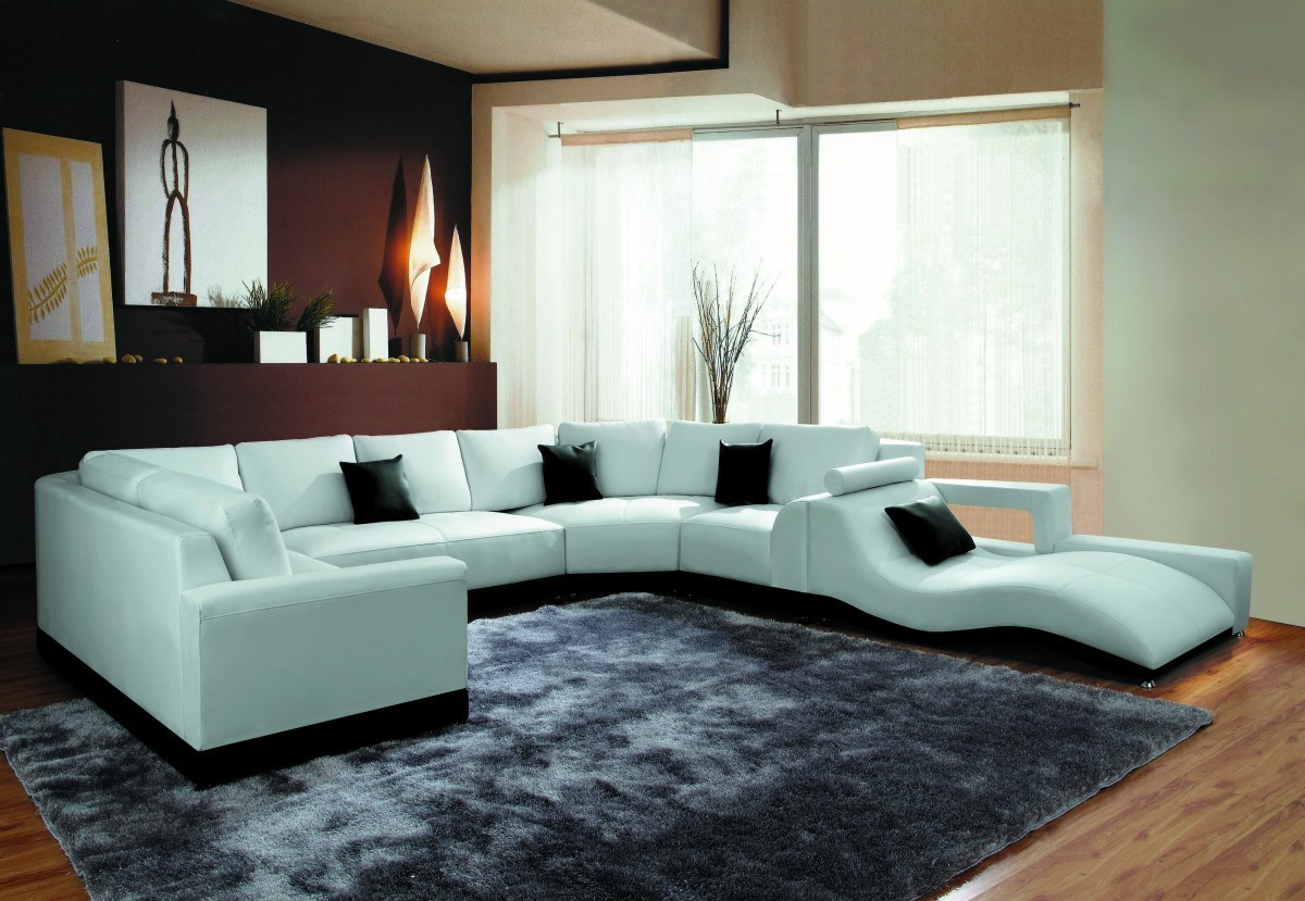 white leather living rooms with sectionals sofa bed design