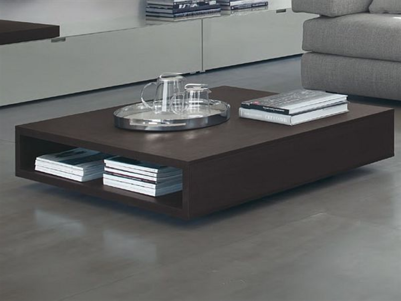 Modern living room coffee tables sets roy home design for Low living room table