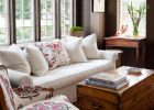 wooden living room furniture with storage chest coffee table