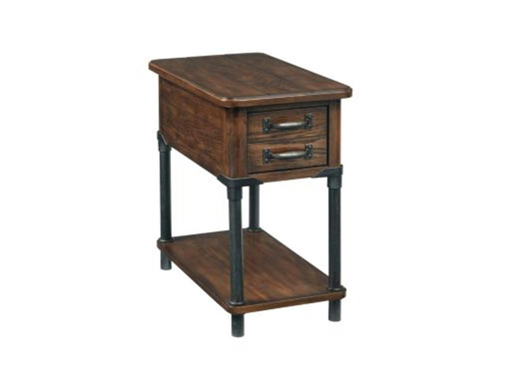 wooden rustic end tables with storage design for living room small accent tables