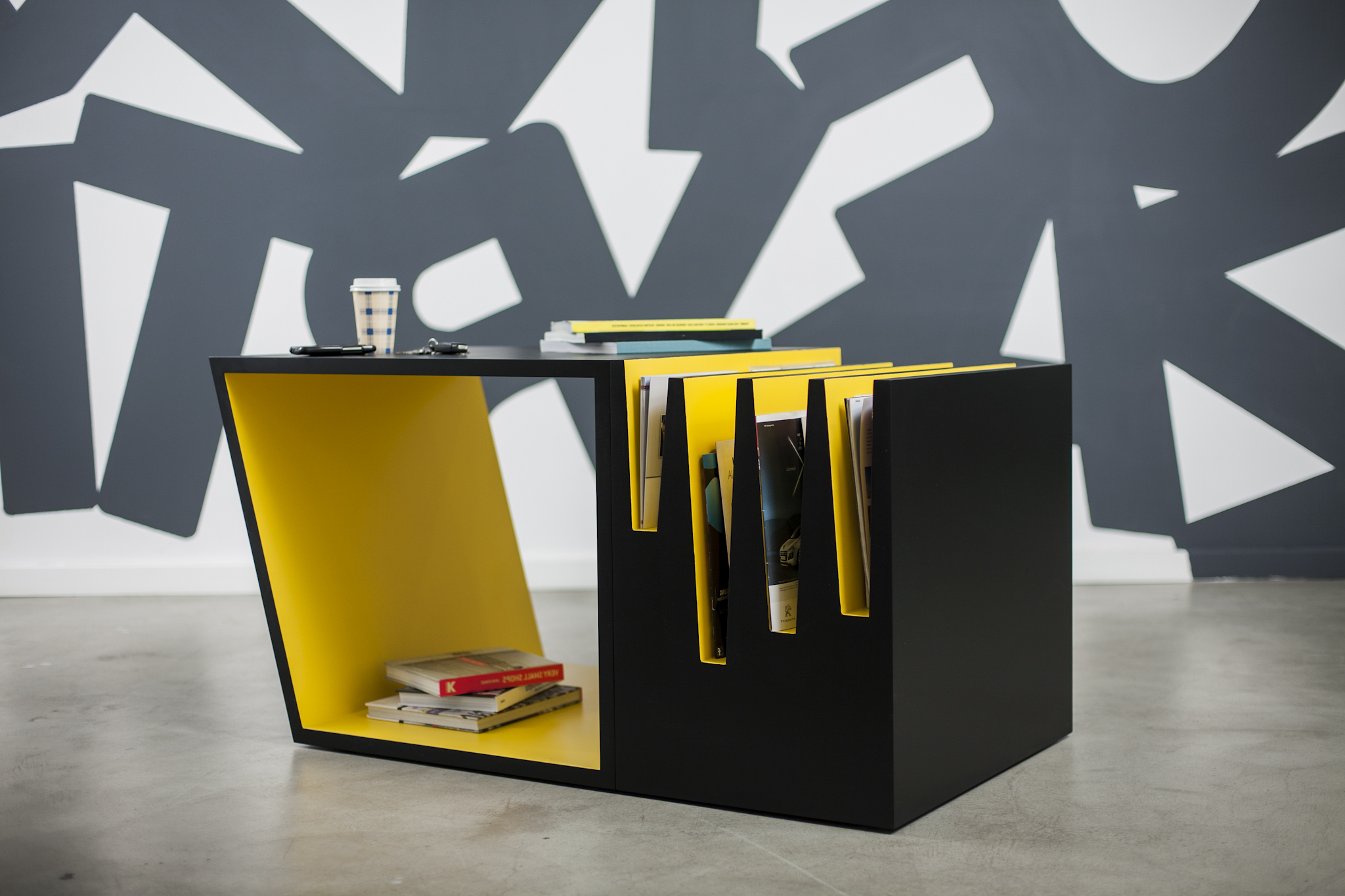 yellow black modern living room cool coffee tables storage ideas
