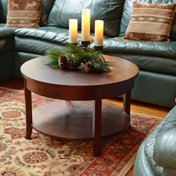 30 inch round coffee table 12