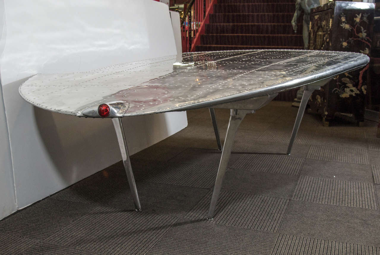 airplane wing coffee table 11