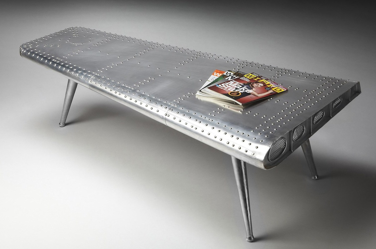 airplane wing coffee table 15