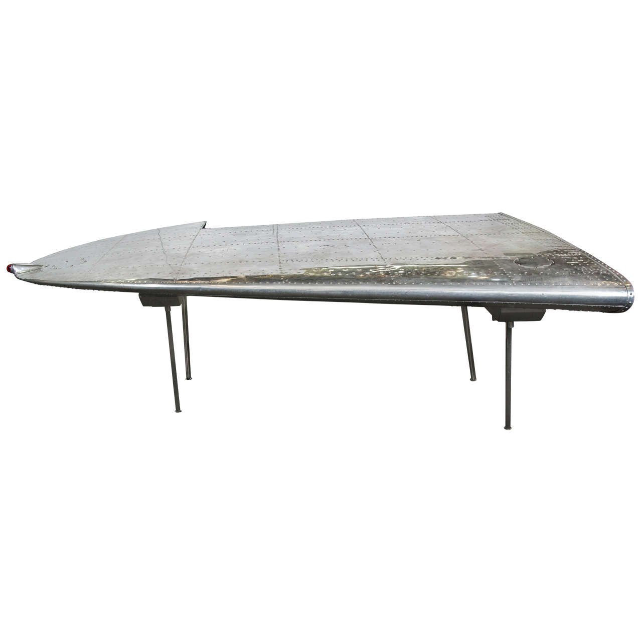 airplane wing coffee table 17