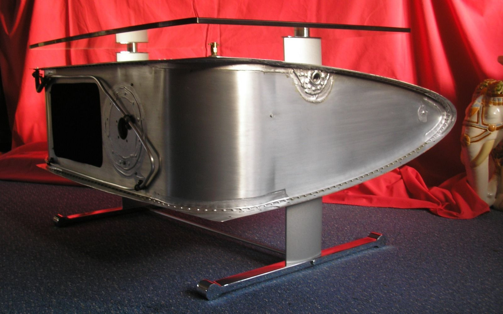 airplane wing coffee table 7
