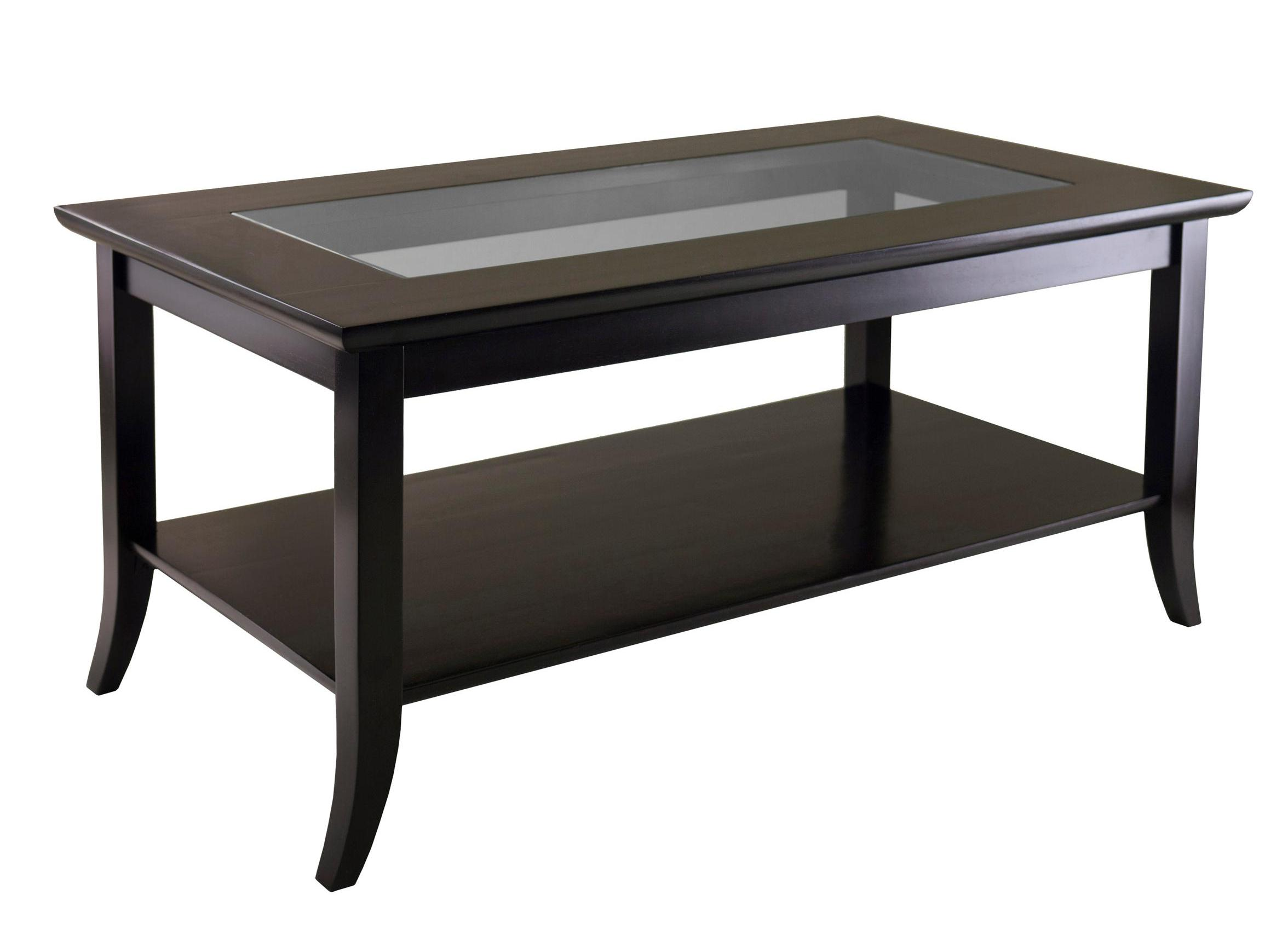 average coffee table size 14
